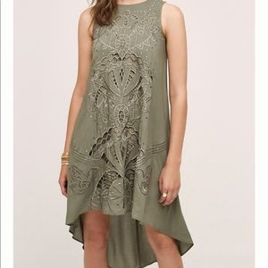 Anthropologie Cut Out Dress